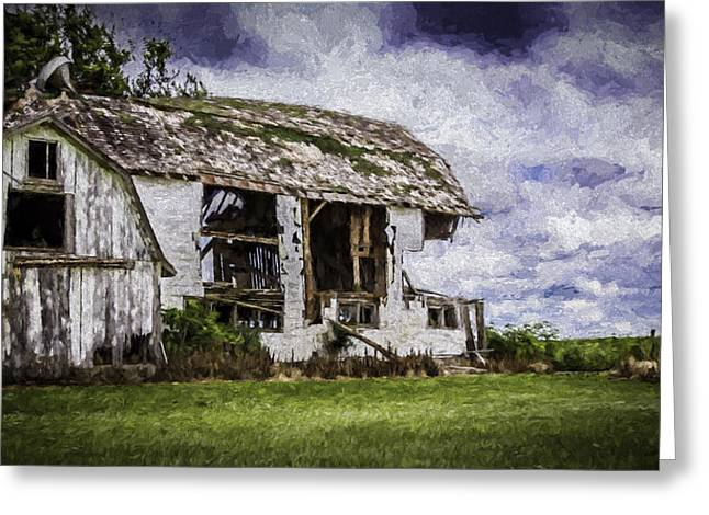 Print Photographs Greeting Cards - Room With A View Please Textured Greeting Card by Kathleen Scanlan