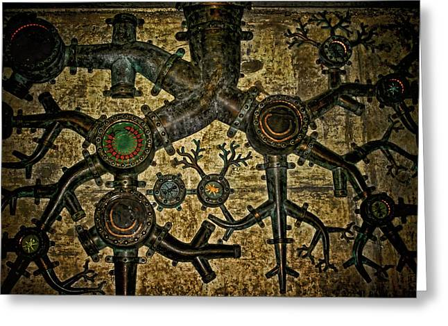 Best Sellers -  - Mechanism Photographs Greeting Cards - Roots Greeting Card by Heather Applegate