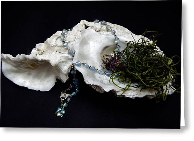 Rosary Mixed Media Greeting Cards - Rosary Rosemary Greeting Card by Robert Hepburn