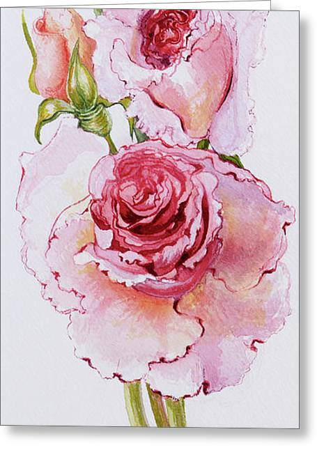 Roses  Greeting Card by Joan Thewsey