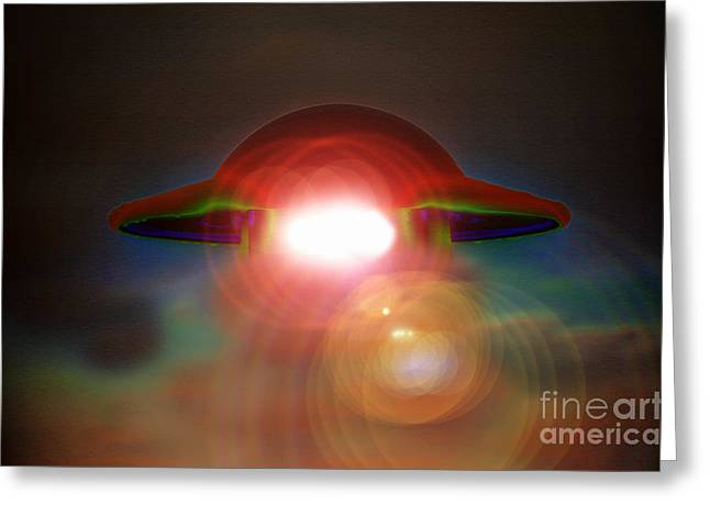 Disk Greeting Cards - Roswell Greeting Card by David Lee Thompson