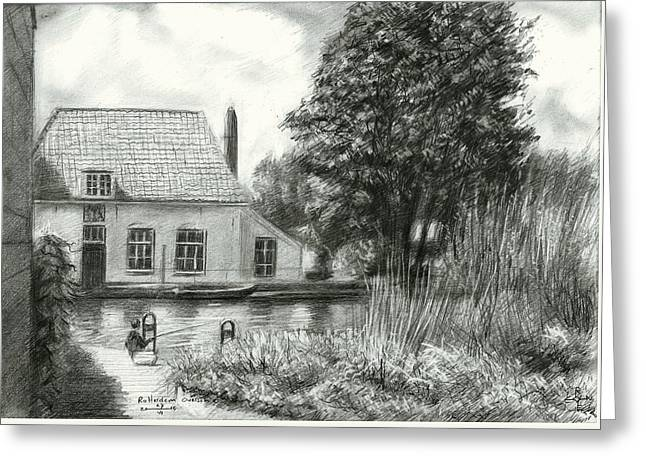 Royal Art Greeting Cards - Rotterdam Overschie - 26-07-15 Greeting Card by Corne Akkers