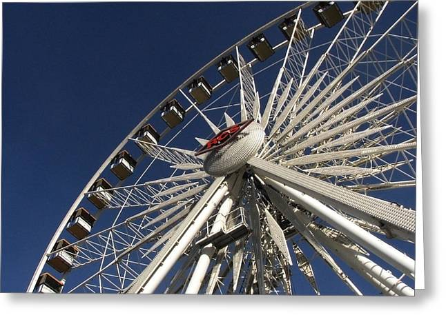 Arizona State Fair Greeting Cards - Round And Round Greeting Card by Robyn R Hazen