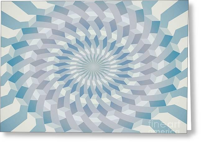 Round Pattern 170.4 Greeting Card by Igor Kislev