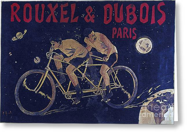 1933 Mixed Media Greeting Cards - ROUXEL an DUBOIS PARIS vintage poster 1857 to 1933 Greeting Card by R Muirhead Art