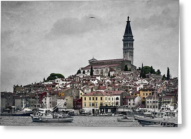 Rovinj Greeting Card by Svetlana Sewell