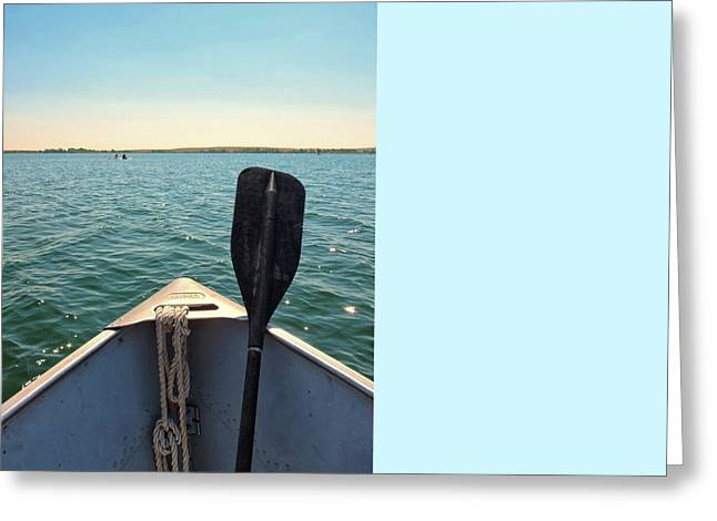 California Beaches Greeting Cards - Row Boat Greeting Card by Connor Beekman