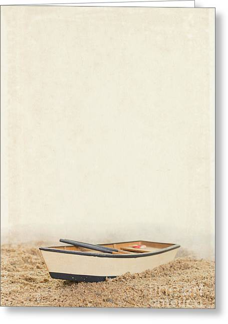 Row Row Row Your Boat Greeting Card by Edward Fielding