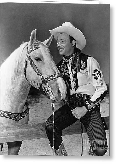 Faa Photographs Greeting Cards - Roy Rogers Greeting Card by Granger