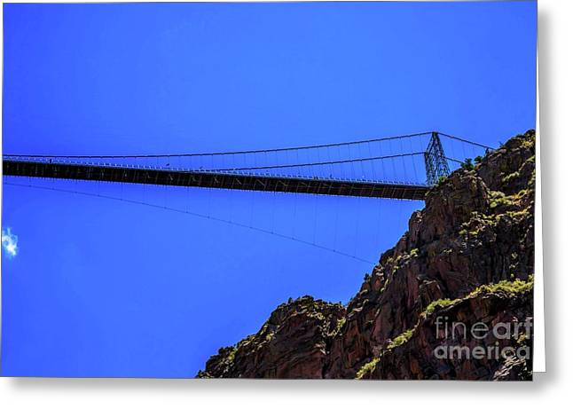 Royal Gorge Bridge Greeting Card by Jon Burch Photography