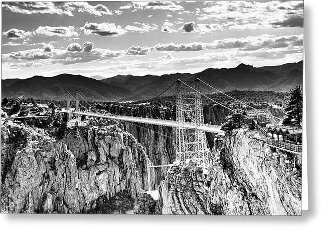 Royal Gorge Greeting Cards - Royal Gorge Greeting Card by Shawn Everhart