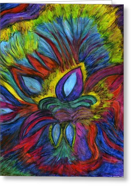 Royalty Pastels Greeting Cards - Royalty Greeting Card by Cassandra Donnelly