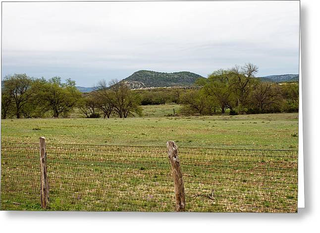 Twisted Sister Greeting Cards - RR335 in West Texas Greeting Card by Samantha Davis