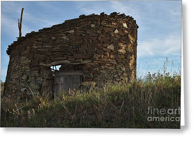 Tavira Greeting Cards - Ruins of an Antique Chicken Coop Greeting Card by Angelo DeVal