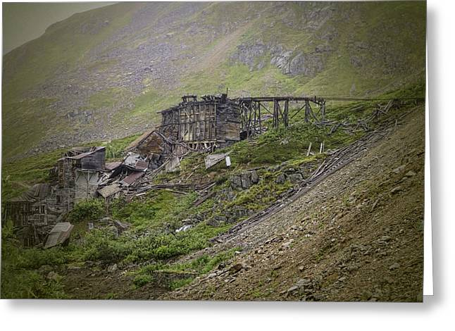 Shack Greeting Cards - Ruins of Independence Mine Greeting Card by Phyllis Taylor