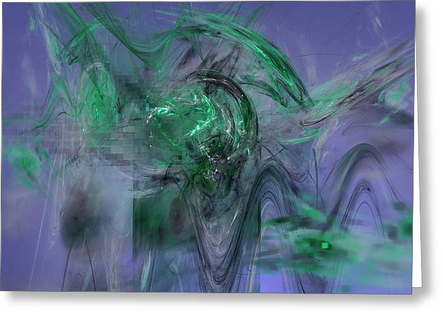 Intrigue Greeting Cards - Run for Your Life Greeting Card by Jeff Iverson