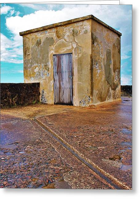 Runoff Greeting Card by Karl Anderson
