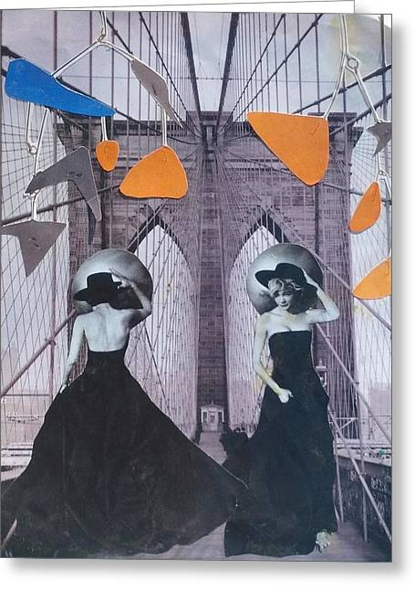 Evening Dress Mixed Media Greeting Cards - Runway Greeting Card by Jennifer Schroeder