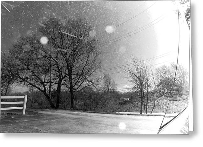 ist Photographs Greeting Cards - Rural Distortion Greeting Card by Shawna  Rowe