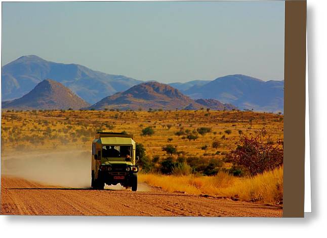 The Plateaus Greeting Cards - Rush Hour Greeting Card by Stacie Gary