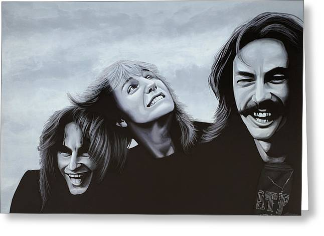 Rush Painting Greeting Card by Paul Meijering