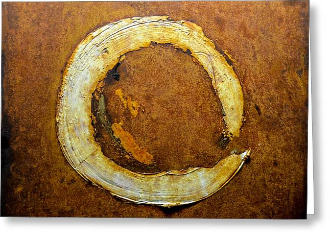 Rust Reliefs Greeting Cards - Rust Art #1 Greeting Card by Michael Kuelbel