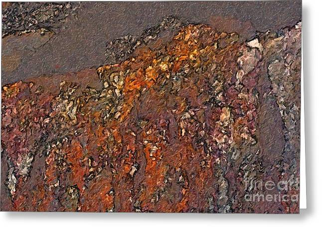 Industrial Concept Greeting Cards - Rust Begins Greeting Card by Ed Churchill