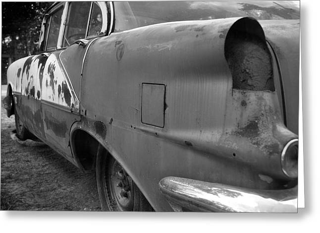 Rusted Cars Greeting Cards - Rust Bucket Greeting Card by John Quigley