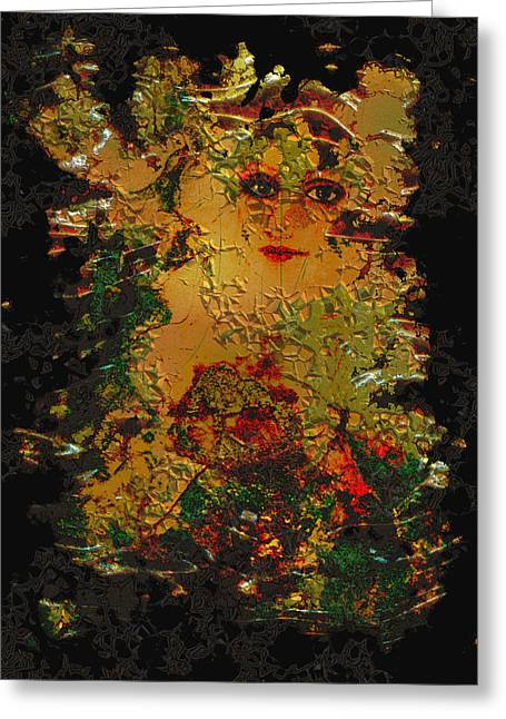 Intuitive Greeting Cards - Rust Greeting Card by Patricia Motley