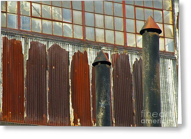 Titusville Greeting Cards - Rusted And Busted Greeting Card by Joe Jake Pratt