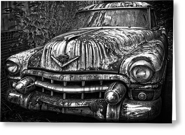 Rusted Chevy Greeting Card by Daniel Hagerman