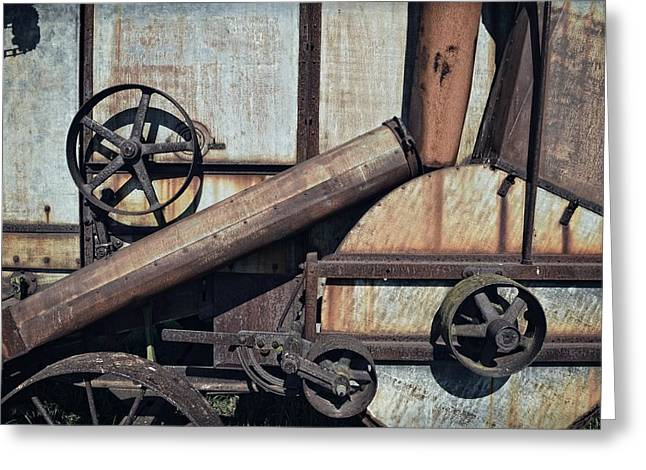 Rusted In Time Greeting Card by Michelle Calkins
