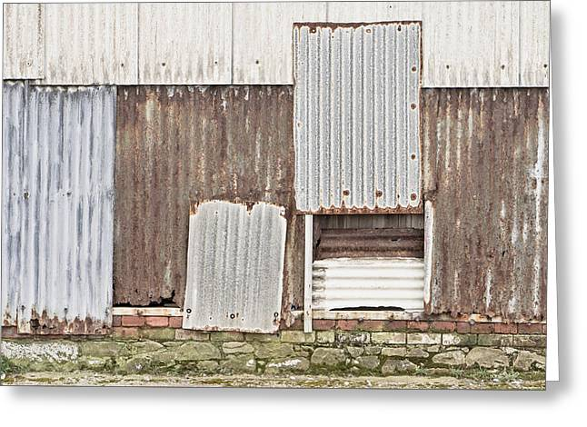 Rusted Metal Greeting Card by Tom Gowanlock
