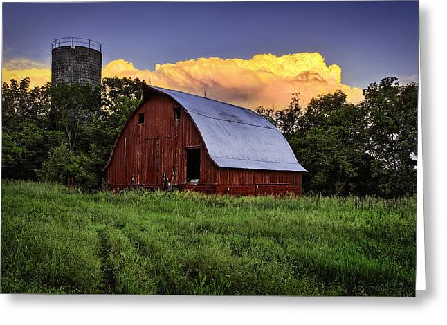 Rustic Glory Greeting Card by Thomas Zimmerman