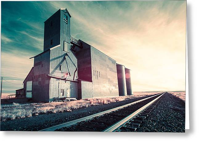 Rustic Monolith Greeting Card by Todd Klassy