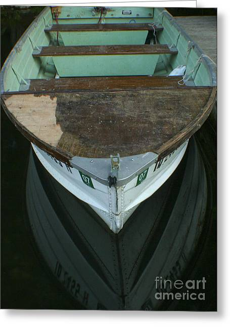Reflecting Water Greeting Cards - Rustic Reflections Greeting Card by Idaho Scenic Images Linda Lantzy