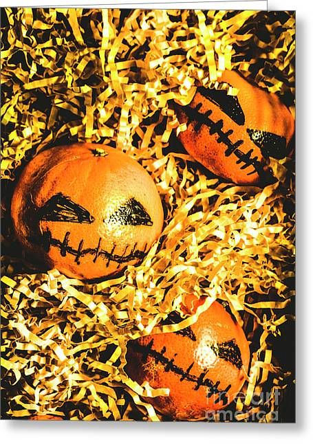 Rustic Rural Halloween Pumpkins Greeting Card by Jorgo Photography - Wall Art Gallery
