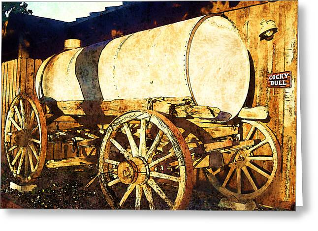 Rustic Warrior Greeting Card by Glenn McCarthy Art and Photography