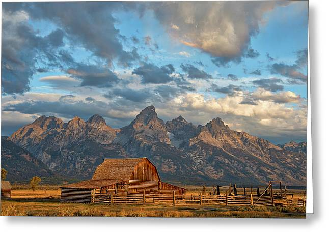 Rustic Wyoming Greeting Card by Darren White