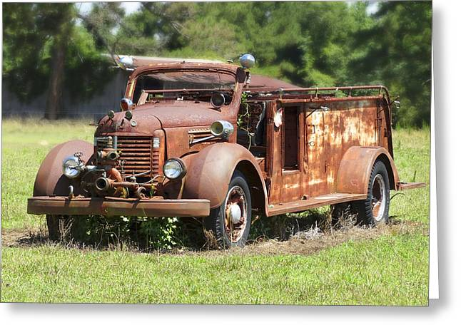 Forgotten Digital Greeting Cards - Rusting Away 2 Greeting Card by Mike McGlothlen