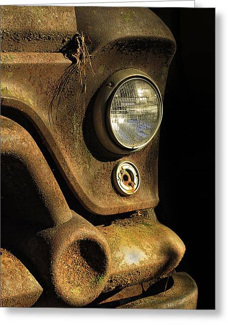 Rusted Cars Greeting Cards - Rusty Ford Greeting Card by Emil Davidzuk