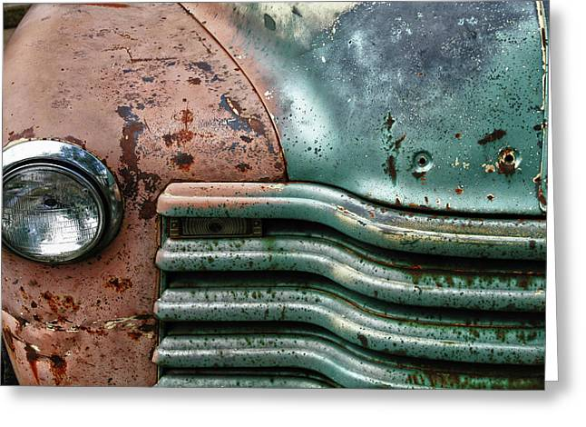 Rusty Old Beauty Greeting Card by Joel Witmeyer