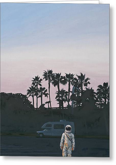Rv Dusk Greeting Card by Scott Listfield