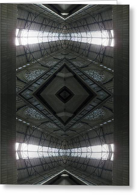 San Francisco Bay Greeting Cards - S F N M architecture 2 Greeting Card by Tina M Wenger