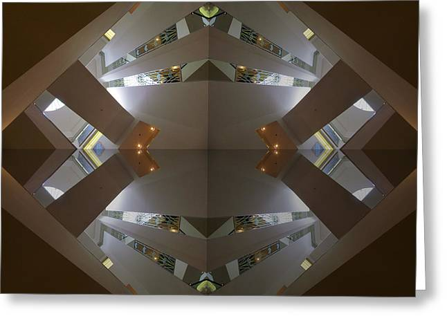San Francisco Bay Greeting Cards - S F N M architecture 4 Greeting Card by Tina M Wenger