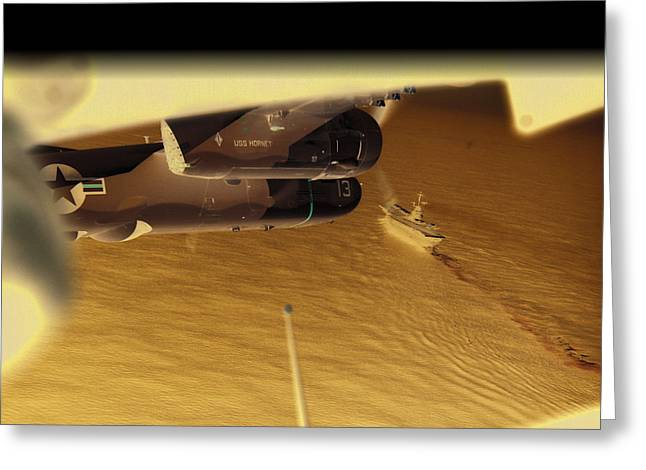 Naval Aviation Greeting Cards - S2s in delta Greeting Card by Mike Ray