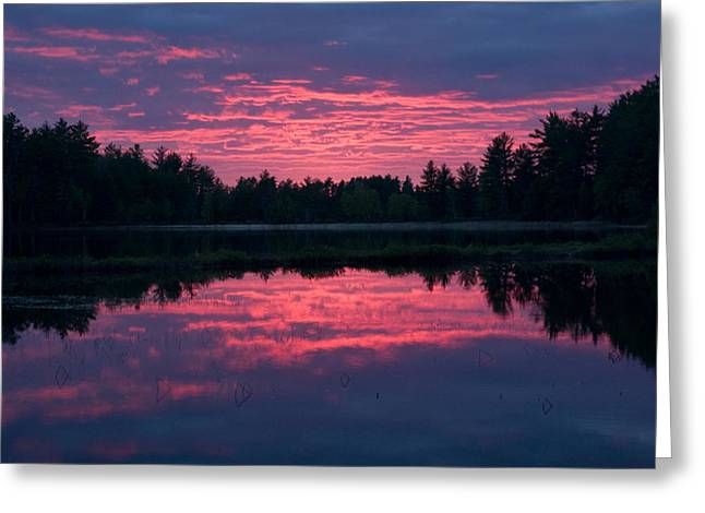 Brent L Ander Greeting Cards - Sabao Sunset 01 Greeting Card by Brent L Ander