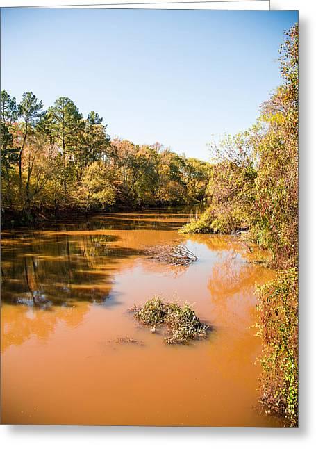 Sabine River Near Big Sandy Texas Photograph Fine Art Print 4082 Greeting Card by M K  Miller