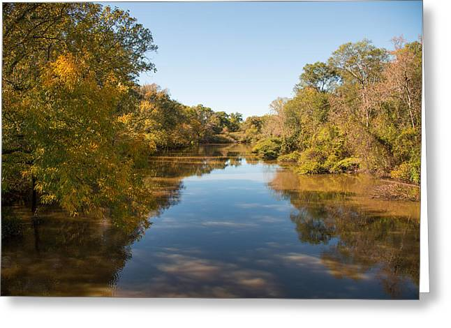 Sabine River Near Big Sandy Texas Photograph Fine Art Print 4087 Greeting Card by M K  Miller
