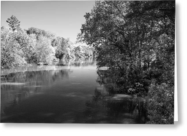 Sabine River Near Big Sandy Texas Photograph Fine Art Print 4091 Greeting Card by M K  Miller